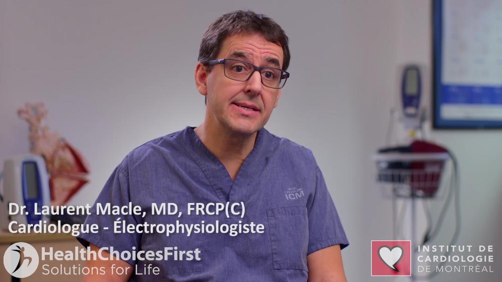 Dr. Laurent Macle, Cardiologist, Montréal, QC