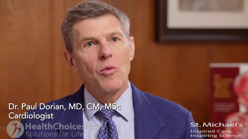 Dr. Paul Dorian, Cardiologist, Toronto, ON